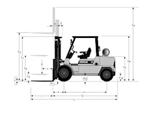 Caterpillar DP50K Specifications & Technical Data (1996
