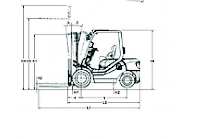 Komatsu FD 20 T 14 Specifications & Technical Data (2000
