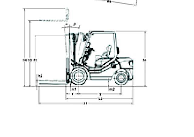 Komatsu FD 25 T 14 Specifications & Technical Data (2000