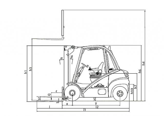 Linde H 30 D Specifications & Technical Data (2003-2012