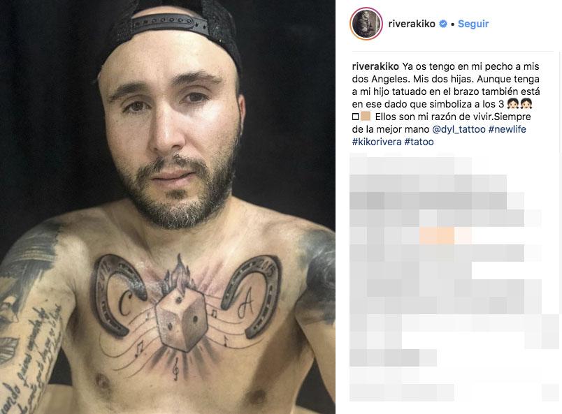 Kiko Rivera El Controvertido Tatuaje Que Le Ha Dedicado A Sus Hijas