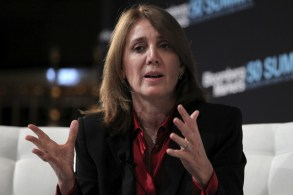 Ruth Porat  By Jin Lee/Bloomberg News [CC BY 1.0], via Wikimedia Commons