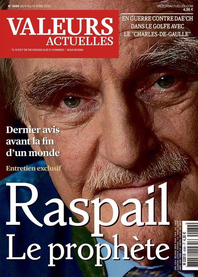 Entretien avec Jean Raspail (Valeurs actuelles)