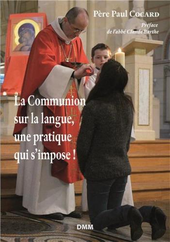 La communion sur la langue, une pratique qui s'impose
