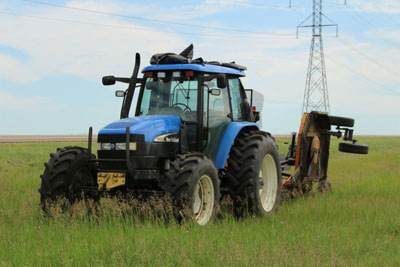 blue-tractor-lawn-mower