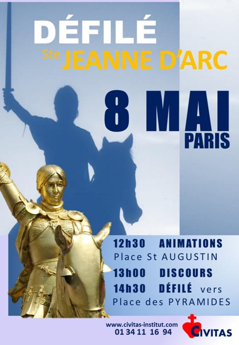 Défilé Sainte Jeanne d'Arc – 8 mai Paris