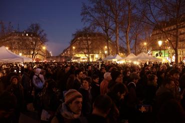 Nuit Debout à Paris