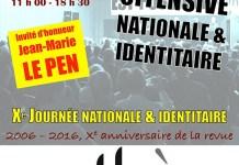 10ème Journée nationale et identitaire