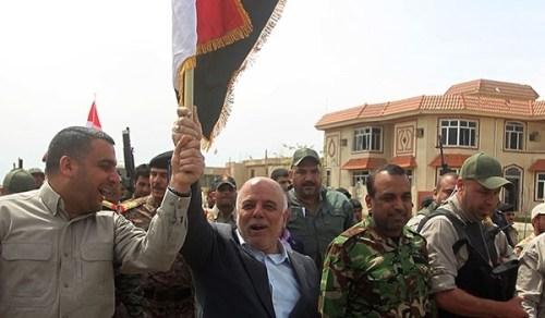 Haider Al-Abadi à Mossoul, victoire contre le califat
