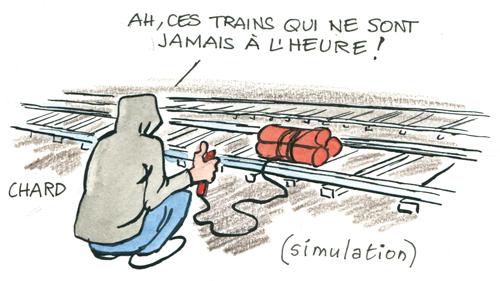 Alerte au déraillement des trains