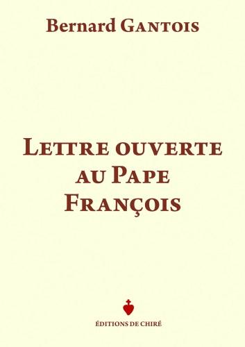 Lettre ouverte au pape François