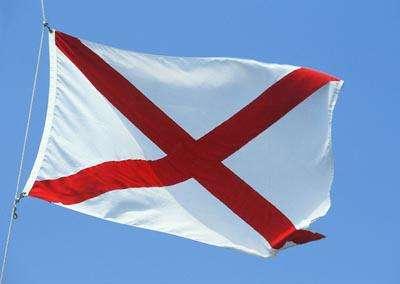 Alabama drapeau