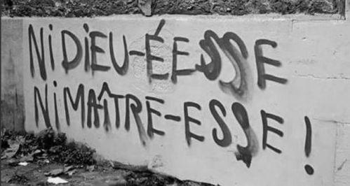 La France résiste à l'écriture inclusive…