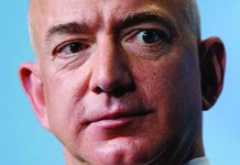 Jeff Bezos et la pieuvre Amazon