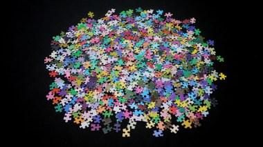 Des pièces de puzzle