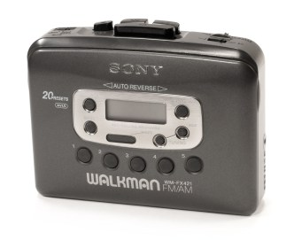 Un Walkman Sony