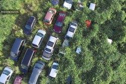 Fukushima 5 ans après - Les véhicules laissés à l'abandon