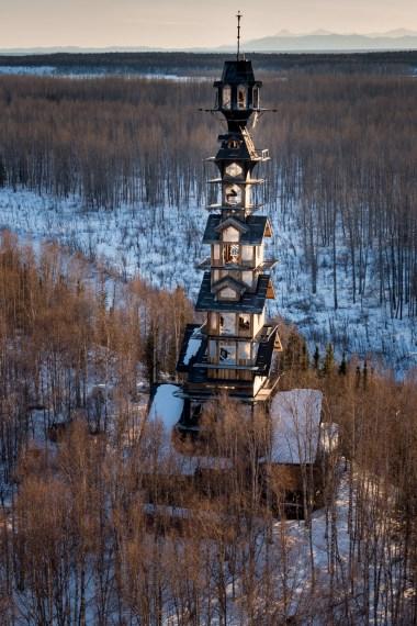 Cabane de 56 mètres - Phillip Weidner en Alaska - Hiver 2