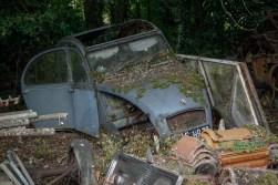 Cimetiere de voitures Citroën 2CV