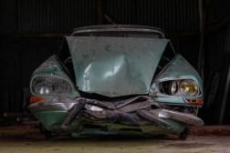 Cimetiere de voitures Citroën DS