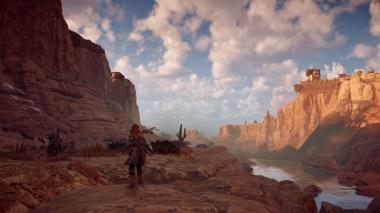 Les paysages de Horizon Zero Dawn sur PS4