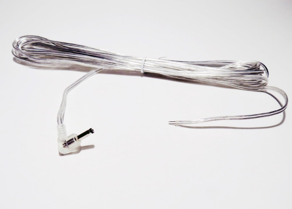 medium resolution of connection cable 400 cm hollow plug 3 5x1 35mm 90 angled