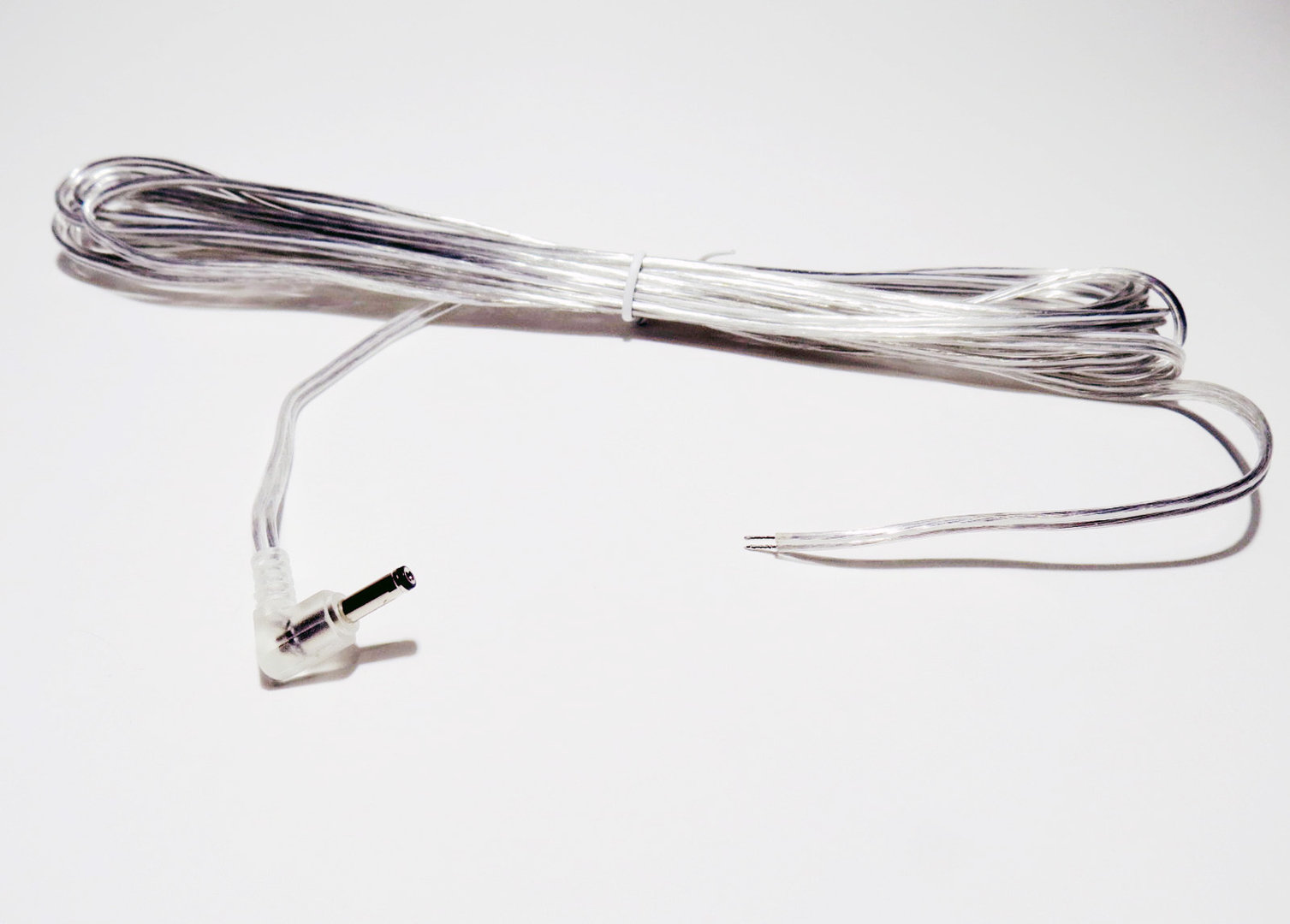 hight resolution of connection cable 400 cm hollow plug 3 5x1 35mm 90 angled