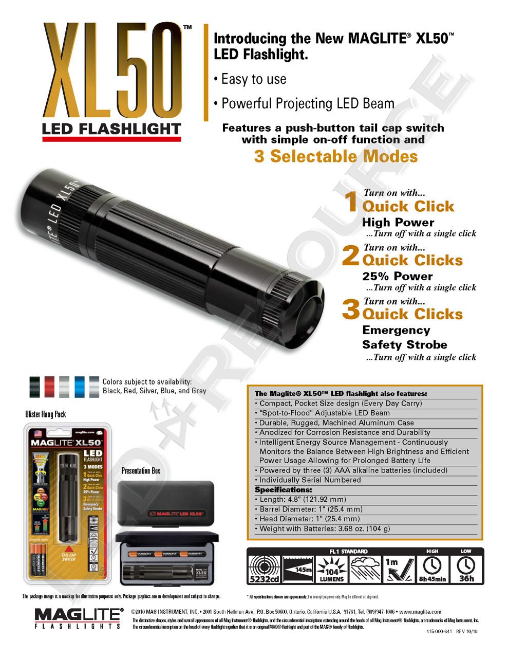 medium resolution of download the maglite xl50 flyer