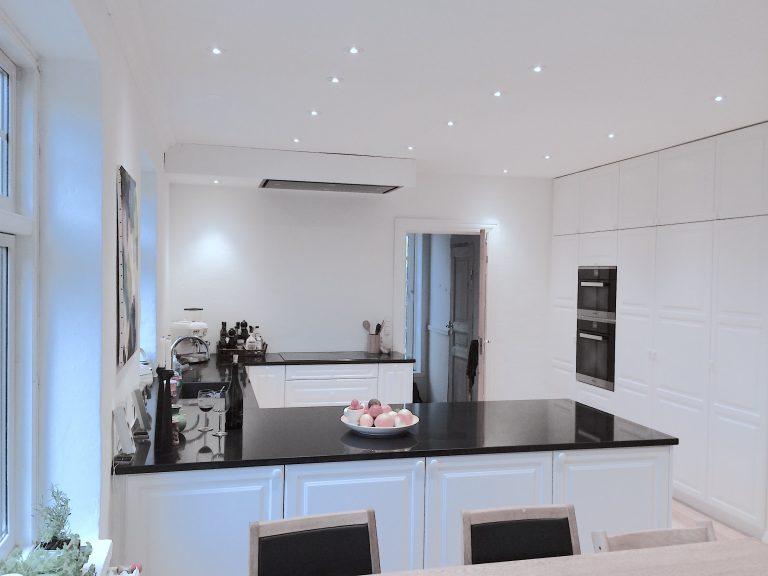 LED 230V køkkenspots indbygningsspots