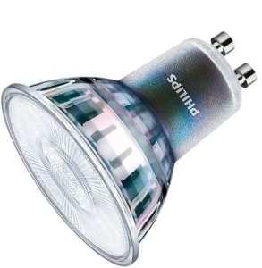 Bedste Philips LED pære gu10 Ra-værdi 97