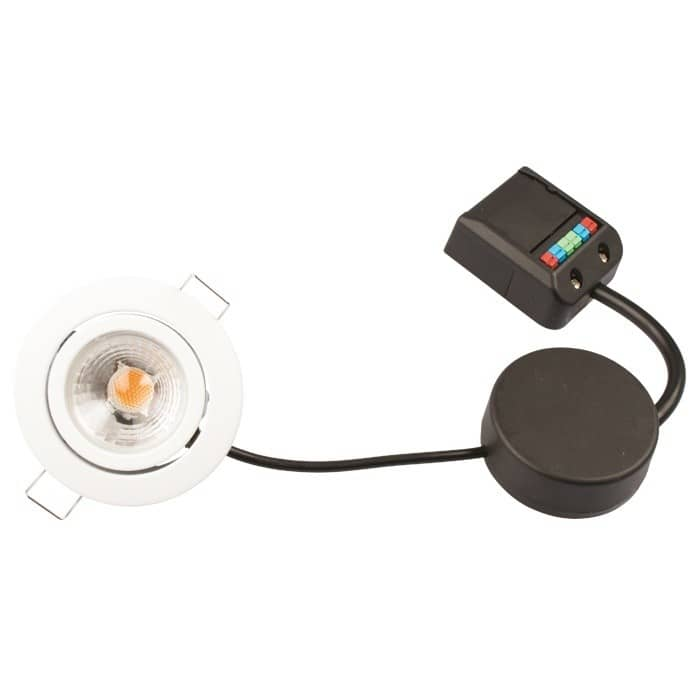 12 volts LED spots til vådrum