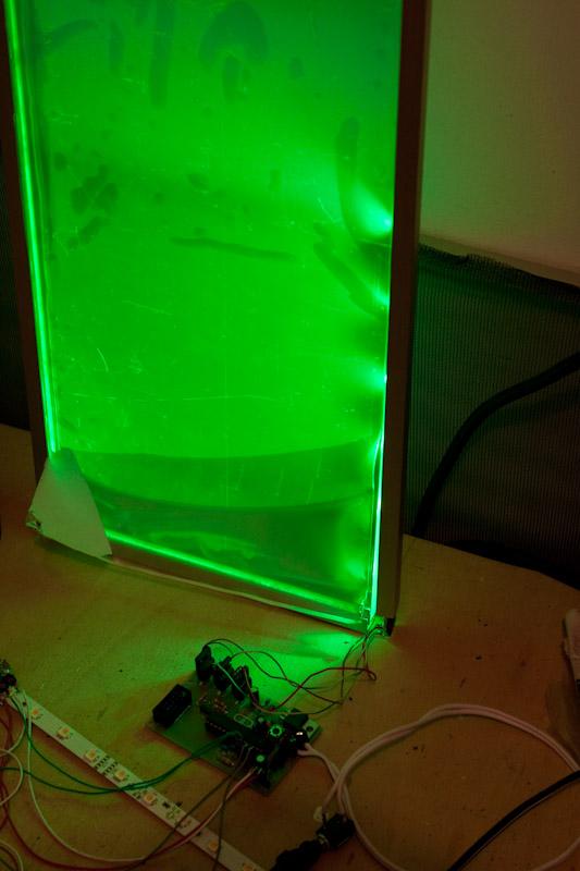 Plexiglas LEDPanel