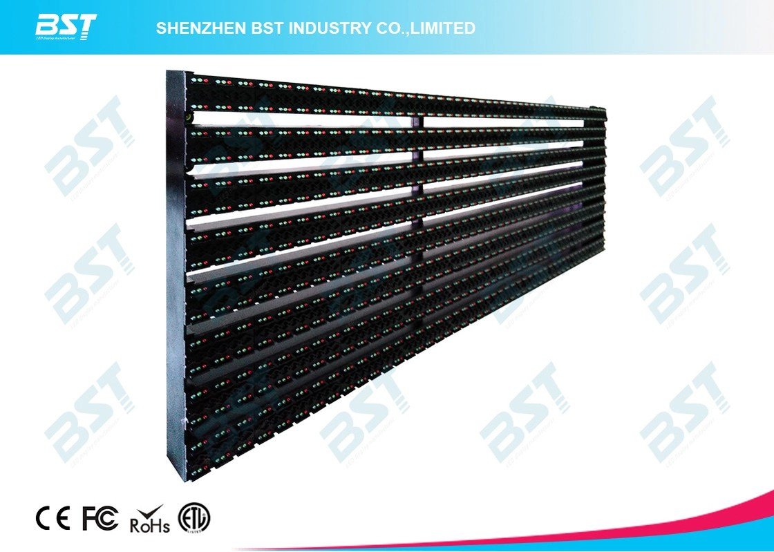 hight resolution of p20mm high transparent outdoor advertising led display screen high power efficiency