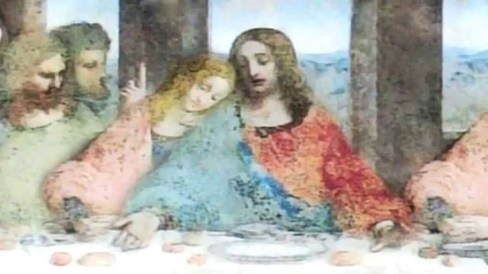 L'ultima cena con Gesù e Maria Maddalena?