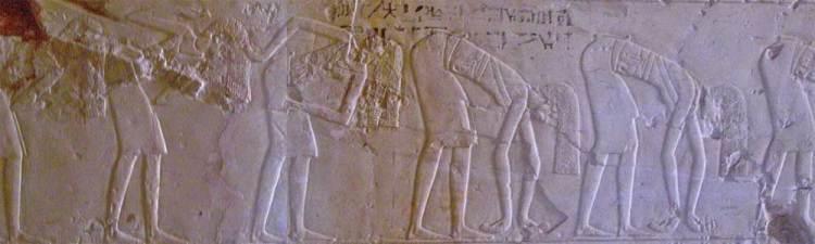 Danza dei capelli - Tomba di Kheruef