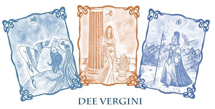 Dee Vergini - Artemide. Estia e Atena