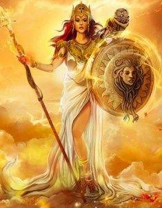 Atena / Neith, Regina delle mitiche Amazzoni