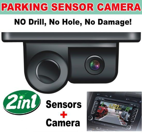 Senzori parcare cu camera video 2 IN 1 Incorporat S450