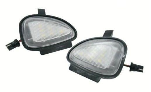 Lampi LED VW Golf 6, Golf 6 Gti 2009~, Golf Cabriolet 2012~, Touran 2010- Undermirror