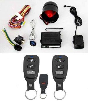 alarma masinaK135 cu 2 telecomenzi cuarmare si dezarmare din telecomanda