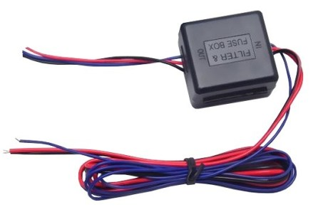 Filtru stabilizator 12V camera marsarier, si senzori de parcare