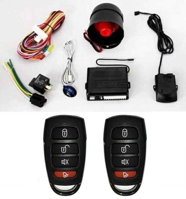 Alarma auto K606 cu 2 telecomenzi de ultima generatie PREMIUM