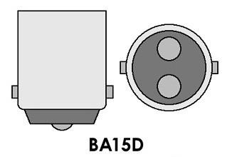Led auto Rosu BA15D High Power cu dubla intensitate si pini simetrici la 180 grade, leduri auto interior / exterior, led pozitie, semnalizare, marsarier, stopuri / frana…
