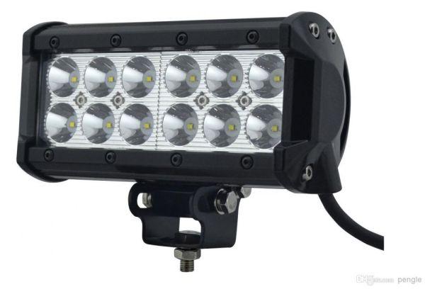 "Proiector LED Auto Offroad 4D 36W/12V-24V, 3060 Lumeni, 7""/17 cm, Spot Beam 12 Grade cu Leduri CREE XBD"