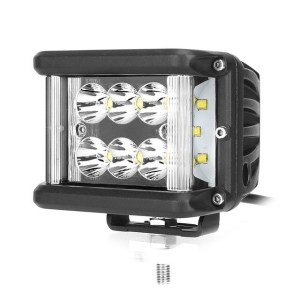 Proiector Offroad Dreptunghiular LED Auto 60W/12V-24V, 5100 Lumeni, Spot Beam