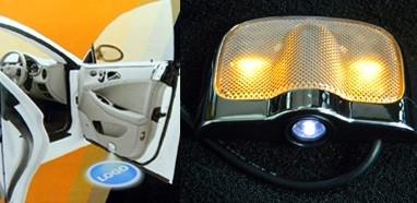 Proiector cu logo/marca pentru iluminat sub usa V2