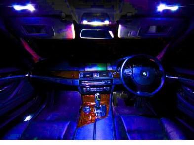 Leduri auto interior dedicate