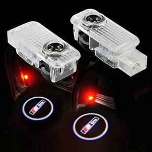 Led Logo Audi S-LINE A1, A4, A5, A6, A8, TT, R8, Q5, Q7 CANBUS OEM, proiectoare led auto cu logo pentru portiere de ultima generatie dedicate Audi