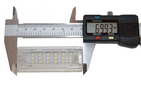 Lampi LED Interior si Portiere BMW F01, F20, F30 Lumina Alba Canbus