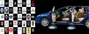 Proiectoare led auto cu logo